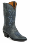 Mens Black Jack Boots Old Forge Navy Blue Deer 6382