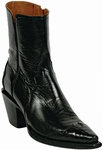 Mens Black Jack Boots Shoes, Zipper Boots and Lace-up Boots - 10 Styles