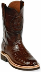 Mens Black Jack Boots Sport Rust Alligator Belly Custom Roper Boots 138