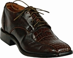 Mens Black Jack Boots Sport Rust Alligator Belly Mens Dress Shoes 4000