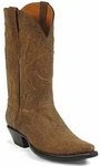 Mens Black Jack Boots Tan Alabama Kangaroo Leather Custom Boots 434