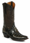 Mens BlackJack Boots American Alligator Tail Old West Custom Boots 560
