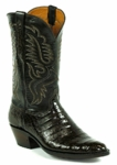 Mens SELECT Caiman Belly Chocolate / Baby Calf Style# 7100