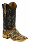 *NEW* Black Jack Handtooled Crosses-Vintage Cognac Custom Boots HT-303