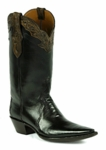*NEW* Black Jack Handtooled Triad Cut w/Plain Tops and Tooled Collar Custom Boots HTP-232