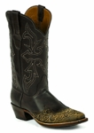 *NEW* Black Jack Handtooled Vintage Chocolate / Ranch Hand-Chocolate Custom Boots HT-199