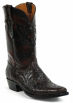 Black Jack Men's Handtooled Black Cherry Custom Boots HTP-206