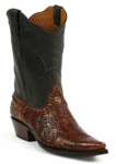 Black Jack Men's Handtooled Mahogany Custom Boots HT-150