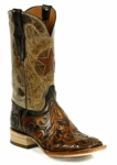 *NEW* Black Jack New Star Inlay W/Cord Custom Boots HT-184