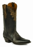 *NEW* Black Jack Triad Cut w/Plain Tops and Tooled Collar Boots HTR-257