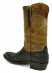 *NEW* Ladies Black Jack Bison - Black Custom Boots 931
