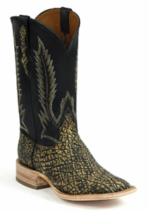 *NEW* Ladies Black Jack Elephant - Antique Saddle Safari Custom Boots 853