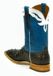 *NEW* Ladies Black Jack Full Quill Ostrich - Nicotene CC Custom Boots 979