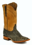 *NEW* Ladies Black Jack Shark - Safari Tan Custom Boots 916
