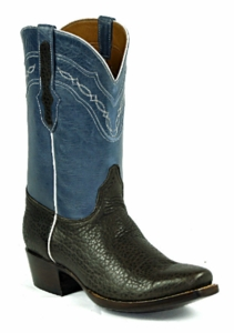 *NEW* Mens Black Jack Bison - Chocolate Custom Boots 930