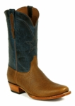 *NEW* Mens Black Jack Bison - Cognac Custom Boots 1223