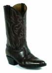 Mens Black Jack Florentine Buffalo - Burgundy Custom Boots 677