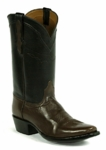 Mens Black Jack Florentine Buffalo - Whiskey Custom Boots 675