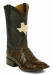 *NEW* Mens Black Jack Full Quill Ostrich - Kango CC Custom Boots 977