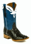 *NEW* Mens Black Jack Full Quill Ostrich - Nicotene CC Custom Boots 979