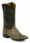 *NEW* Mens Black Jack Full Quill Ostrich - Rio Grand Kango Custom Boots 976