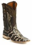 *NEW* Mens Black Jack Python Snake Beige/Brown **LIMITED COLOR** Custom Boots 624