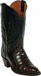 Womens Black Jack Boots Brown Caiman Flank Triad Custom Boots 1414