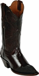 Womens Black Jack Boots Brown Goat & Brown Stingray Wingtip Custom Boots 1421