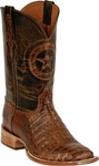 Womens Black Jack Boots Burnished Brown Caiman Crocodile Belly Custom Boots 250
