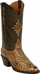 Womens Black Jack Boots Burnished Tan Full Quill Ostrich Custom Boots 211