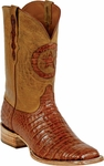 Womens Black Jack Boots Cognac Caiman Crocodile Belly Custom Boots 250