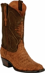 Womens Black Jack Boots Cognac Sueded Caiman Crocodile Belly Custom Boots 243