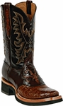 Womens Black Jack Boots Sport Rust Caiman Crocodile Belly Custom Boots 252