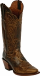 Womens Black Jack Boots Tan Maddog Goat Leather Custom Boots 379