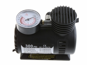 12V Electric Pump for Car Tyre (up to 300 PSI)