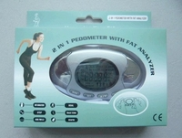 2 in 1 Digital Pedometer & Fat Analyzer