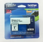 24mm Label refill for Brother PTouch
