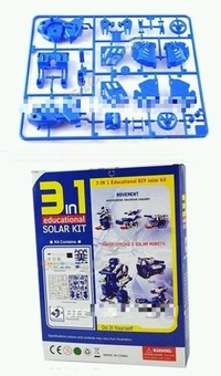 3 in 1 Robot Solar Educational Toy Kit