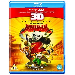 3D Bluray Movie - Kung Fu Panda 2