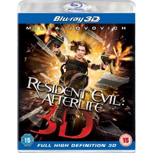 3D Bluray Movie - Resident Evil: Afterlife