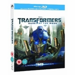 3D Bluray Movie - Transformers: Dark of the Moon