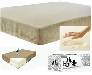 "4"" Memory Foam Orthopedic Pet Bed (Size 34"" by 22"" from Brindle)"