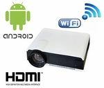 4000 Lumens HD LED Projector (with built-in Wifi & Android Computer)