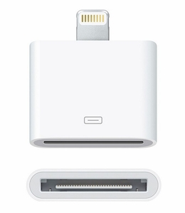 8-Pin 30-Pin Converter Adapter (for iPhone 5 & Apple Lightning Connector Devices)