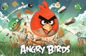 "Angry Bird Games Poster (size 34"" by 22"")"