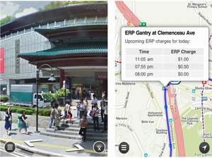 Apple iPhone iPad App - GoThere.SG