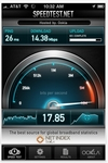 Apple iPhone iPad App - Speed Test (Internet Connection)