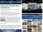 Apple iPhone iPad App  - Straits Times Singapore News