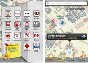 Apple iPhone iPad App - WhereTo.SG