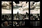 "Art Poster of Your Window to New York (36"" by 24"")"